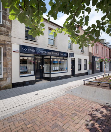 Edinburgh branch locations for Scotmid Funeral Directors.